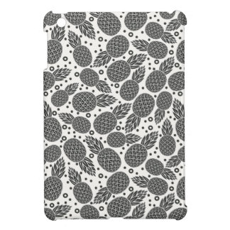 Monochrome Pineapples iPad Mini Case