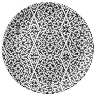 Monochrome Plate