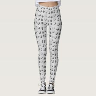 Monochrome spots leggings