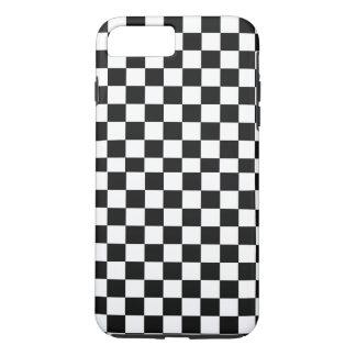 Monochrome Squares abstract repeatable geometric p iPhone 8 Plus/7 Plus Case