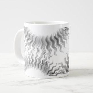 Monochrome Sun Wheel Mug - Jumbo