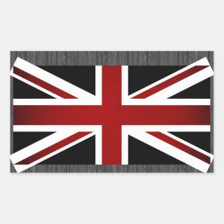 Monochrome United Kingdom Flag Sticker