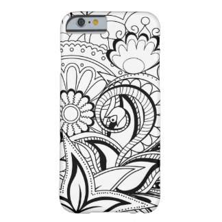 monochrome zen pattern barely there iPhone 6 case