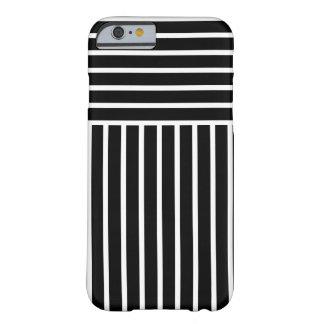 Monocrome Stripes iPhone 6/6s Case