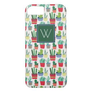 Monogram | A Crowd of Cactus Case-Mate iPhone Case