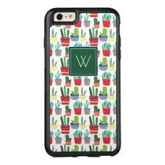 Monogram   A Crowd of Cactus OtterBox iPhone 6/6s Plus Case
