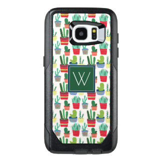 Monogram | A Crowd of Cactus OtterBox Samsung Galaxy S7 Edge Case