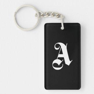 "Monogram ""A Keychain"