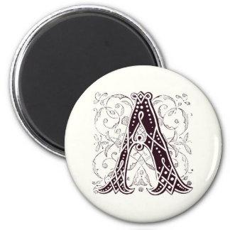 Monogram A Magnet