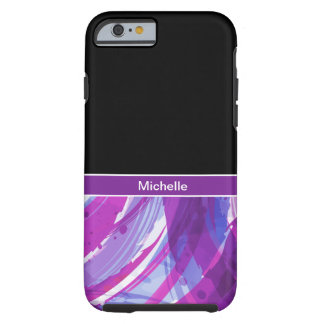Monogram Abstract Artsy Tough iPhone 6 Case
