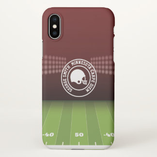 Monogram. All-American Sunday Football. iPhone X Case