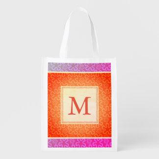 Monogram Aloha Reusable Grocery Bag