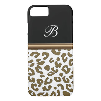 Monogram Animal Print iPhone 8/7 Case