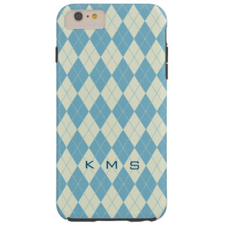 Monogram Argyle iPhone 6 Plus, Tough Tough iPhone 6 Plus Case
