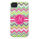 Monogram Aztec Andes Tribal Mountains Chevron iPhone 4 Case-Mate Case