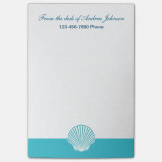 Monogram Beach Sticky Note Pads
