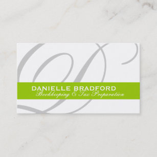 Professional chef business cards business card printing zazzle ca monogram business cards reheart Gallery