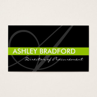 Monogram Business Cards