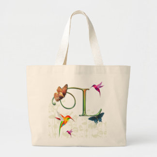 Monogram Butterfly Fantasy L Large Tote Bag