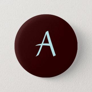 Monogram Buttom 2 Inch Round Button