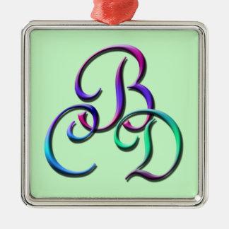 Monogram CBD Ornament
