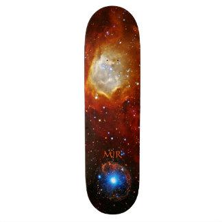 Monogram Celestial Bauble - SXP1062 space picture Skateboard Deck