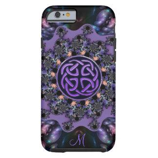 Monogram Celtic Fractal Mandala iPhone 6 Case