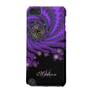 Monogram Celtic Fractal Triskele iPod 5G iPod Touch 5G Case