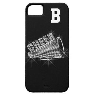 Monogram, Cheer, Black & White iPhone 5/5S Case