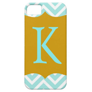 Monogram Chevron iPhone Case