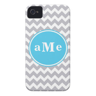 Monogram Chevron (Today's Best Award) iPhone 4 Case