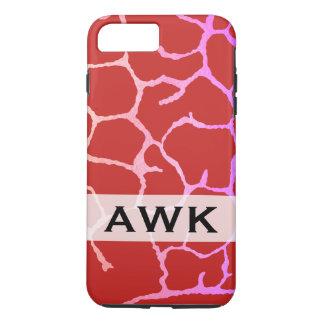 Monogram chic lux pattern iPhone 8 plus/7 plus case