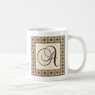 Monogram : Choca Mocha :  A Coffee Mug