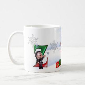 Monogram Christmas Cup Z