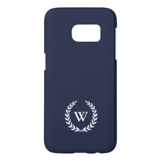 Monogram Classic Elegant Samsung Galaxy S7 Case