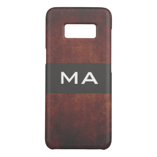 Monogram Classic Texture Case-Mate Samsung Galaxy S8 Case