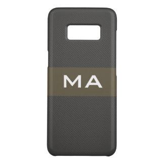 Monogram Classic Texture modern Case-Mate Samsung Galaxy S8 Case