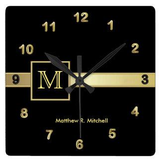 Monogram Classy Executive Clocks