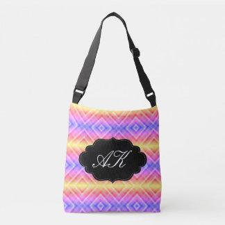Monogram Colorful Diamond Crossbody Bag