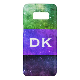 Monogram Colorful Galaxies green purple galaxy Case-Mate Samsung Galaxy S8 Case
