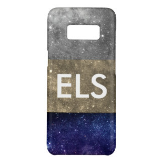 Monogram Colorful Galaxies layer Case-Mate Samsung Galaxy S8 Case