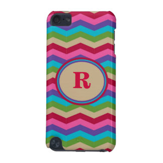 Monogram Colorful Zig Zag Stripes Speck Case iPod Touch 5G Covers