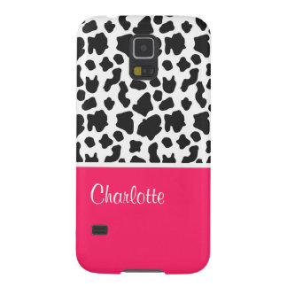 Monogram Cow Galaxy S5 Case