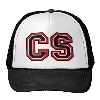 Monogram 'CS' initials Trucker Hat