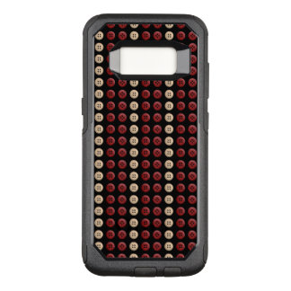 Monogram Customizable Cool Cute Unique Pattern OtterBox Commuter Samsung Galaxy S8 Case