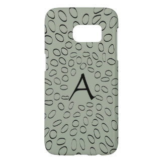 Monogram Customizable Cute Unique Abstract Pattern Samsung Galaxy S7 Case