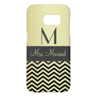 Monogram - Customizable Samsung Galaxy S7 Case