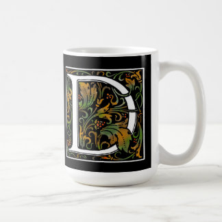 Monogram D Color Mug