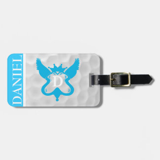 Monogram D Golf Ball Luggage Tag