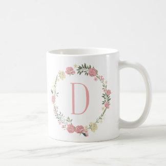"""Monogram """"D"""" Mug"""